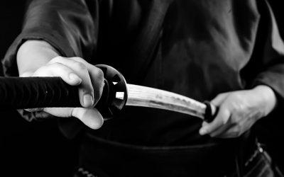 La voie initiatique du sabre japonais.